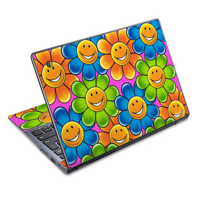 Acer Chromebook C720 Skin - Happy Daisies