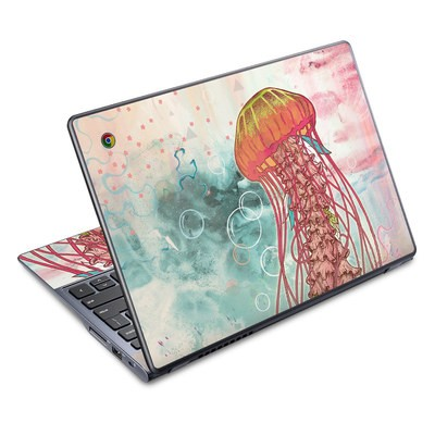Acer Chromebook C720 Skin - Jellyfish