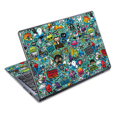 Acer Chromebook C720 Skin - Jewel Thief