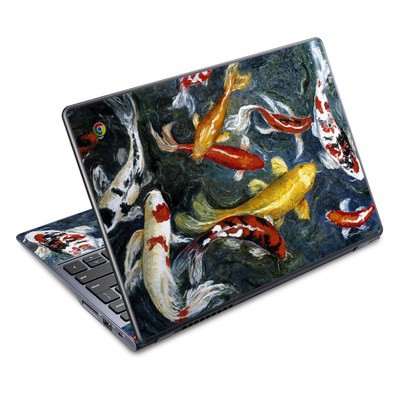 Acer Chromebook C720 Skin - Koi's Happiness