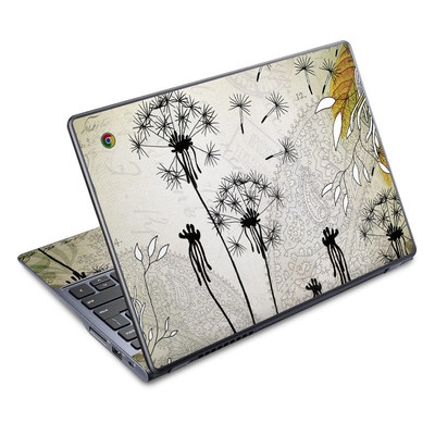 Acer Chromebook C720 Skin - Little Dandelion