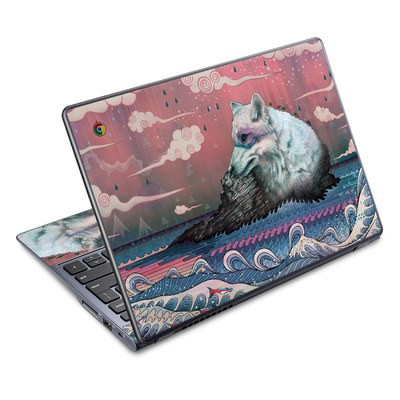 Acer Chromebook C720 Skin - Lone Wolf
