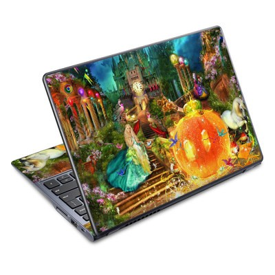 Acer Chromebook C720 Skin - Midnight Fairytale