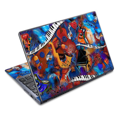 Acer Chromebook C720 Skin - Music Madness