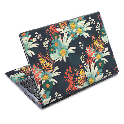 Acer Chromebook C720 Skin - Monarch Grove