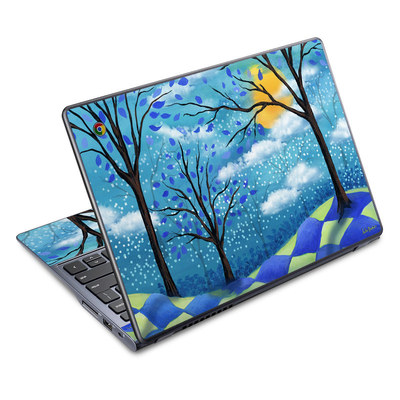 Acer Chromebook C720 Skin - Moon Dance Magic
