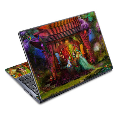 Acer Chromebook C720 Skin - A Mad Tea Party
