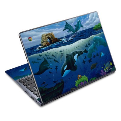 Acer Chromebook C720 Skin - Oceans For Youth