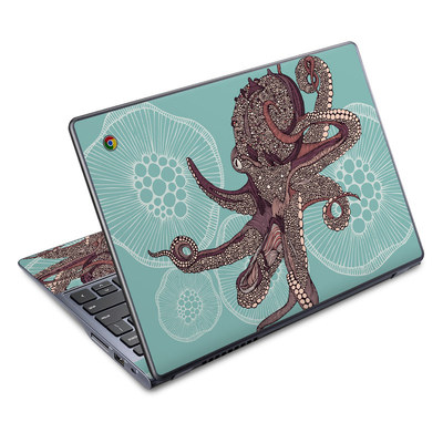 Acer Chromebook C720 Skin - Octopus Bloom