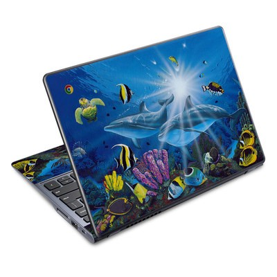 Acer Chromebook C720 Skin - Ocean Friends