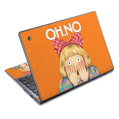 Acer Chromebook C720 Skin - Oh No