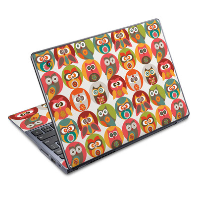 Acer Chromebook C720 Skin - Owls Family