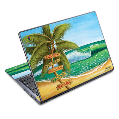 Acer Chromebook C720 Skin - Palm Signs