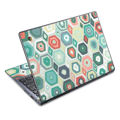Acer Chromebook C720 Skin - Pastel Diamond