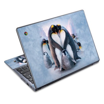 Acer Chromebook C720 Skin - Penguin Heart