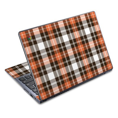 Acer Chromebook C720 Skin - Copper Plaid