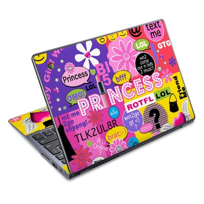 Acer Chromebook C720 Skin - Princess Text Me