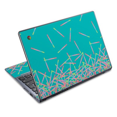 Acer Chromebook C720 Skin - Pop Rocks Wands