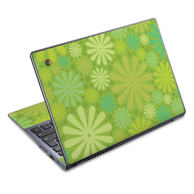 Acer Chromebook C720 Skin - Lime Punch