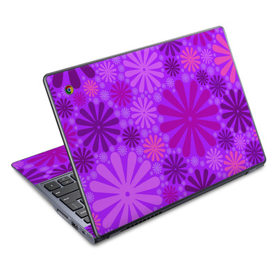 Acer Chromebook C720 Skin - Purple Punch