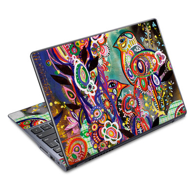 Acer Chromebook C720 Skin - Purple Birds