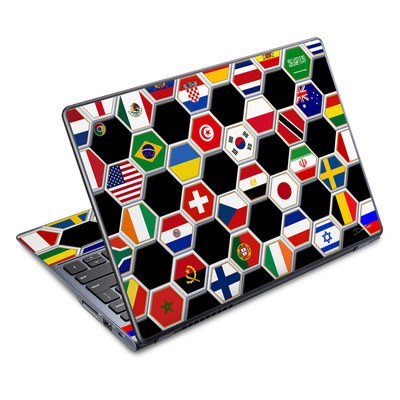 Acer Chromebook C720 Skin - Soccer Flags