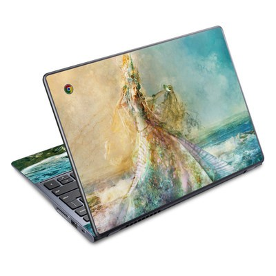 Acer Chromebook C720 Skin - The Shell Maiden