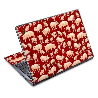 Acer Chromebook C720 Skin - Some Pig