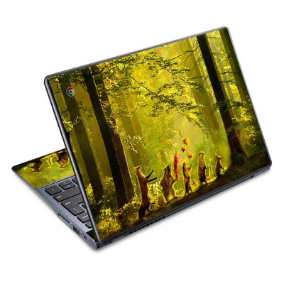 Acer Chromebook C720 Skin - Secret Parade