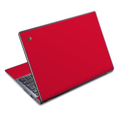 Acer Chromebook C720 Skin - Solid State Red