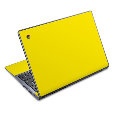 Acer Chromebook C720 Skin - Solid State Yellow