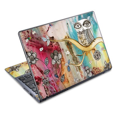 Acer Chromebook C720 Skin - Surreal Owl