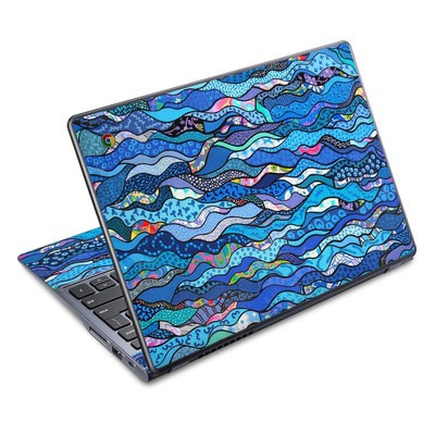 Acer Chromebook C720 Skin - The Blues