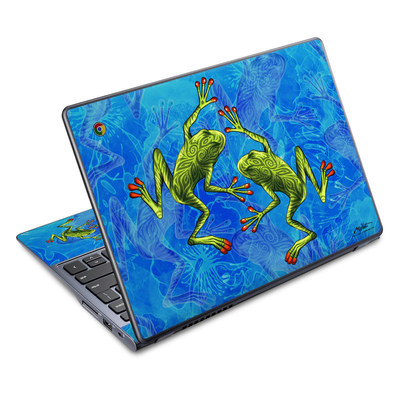 Acer Chromebook C720 Skin - Tiger Frogs