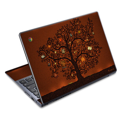 Acer Chromebook C720 Skin - Tree Of Books