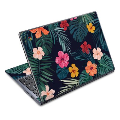 Acer Chromebook C720 Skin - Tropical Hibiscus