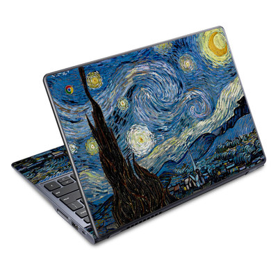 Acer Chromebook C720 Skin - Starry Night