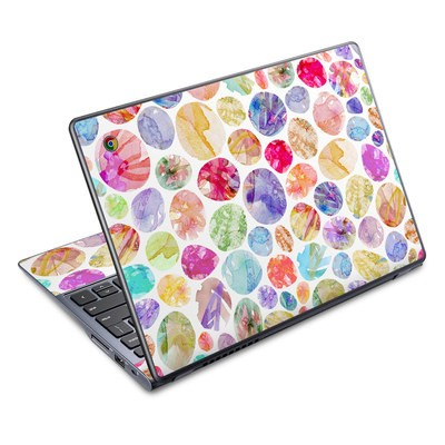 Acer Chromebook C720 Skin - Watercolor Dots