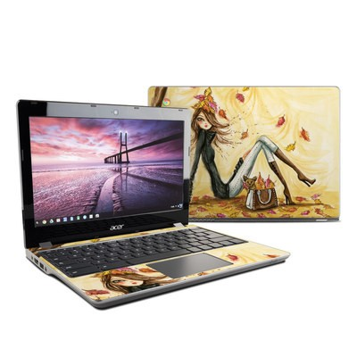 Acer Chromebook C740 Skin - Autumn Leaves