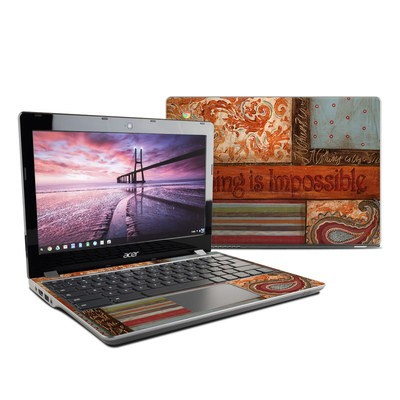 Acer Chromebook C740 Skin - Be Inspired