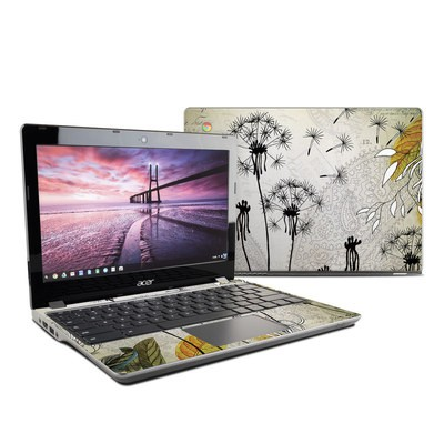 Acer Chromebook C740 Skin - Little Dandelion