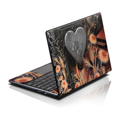 Acer AC700 ChromeBook Skin - Black Lace Flower
