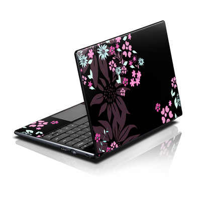 Acer AC700 ChromeBook Skin - Dark Flowers