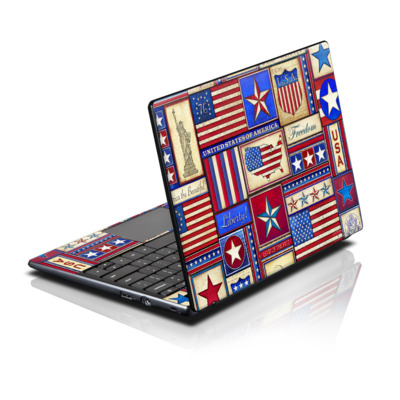 Acer AC700 ChromeBook Skin - Flag Patchwork