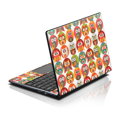 Acer AC700 ChromeBook Skin - Owls Family