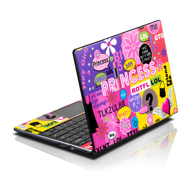 Acer AC700 ChromeBook Skin - Princess Text Me