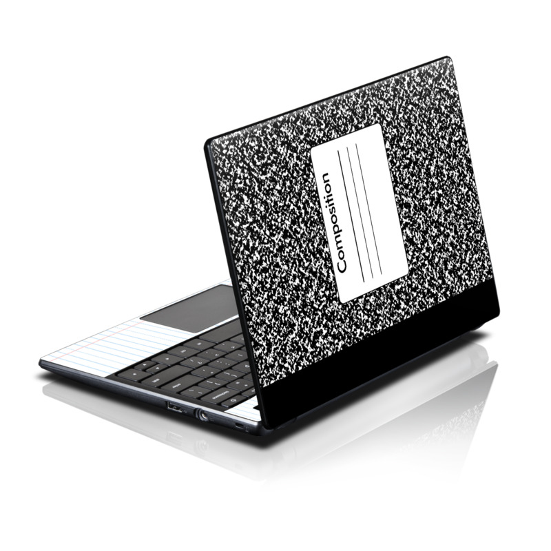 Acer Ac700 Chromebook Skin Composition Notebook By Retro