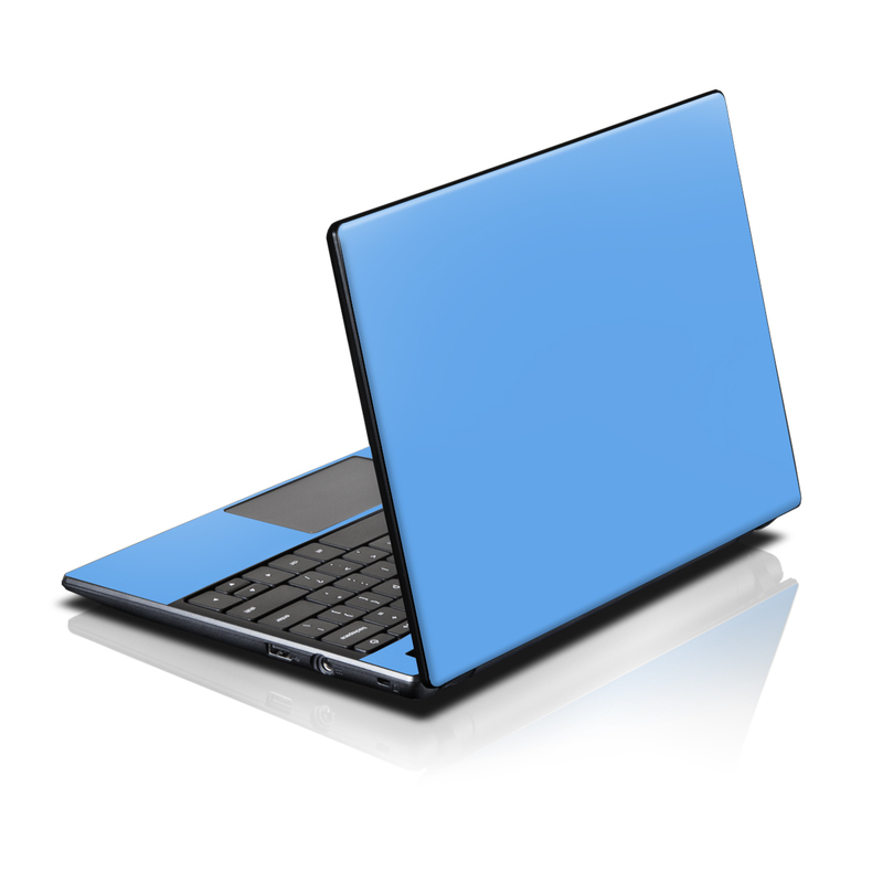acer ac700 chromebook skin solid state blue by solid