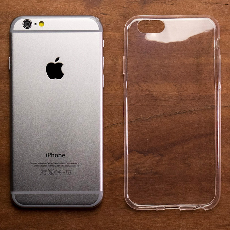 Ultra Thin Transparent Gel Case Apple Iphone 6 6s 4 7in