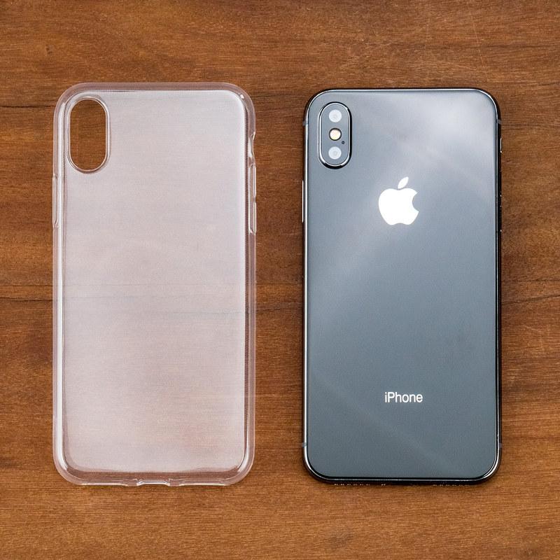 promo code 6ffbb 952d2 Ultra Thin Transparent Gel Case - Apple iPhone X